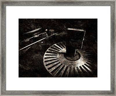 The Art Of Music Framed Print by Jessica Brawley