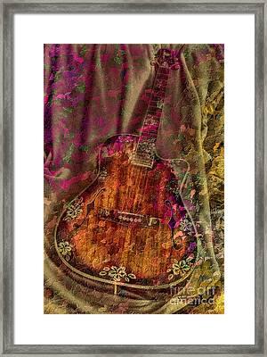 The Art Of Music Framed Print by Steven Lebron Langston