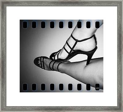 The Art Of Stilettos Framed Print