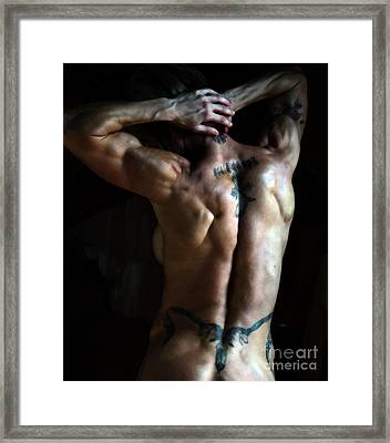 The Art Of Strength Framed Print