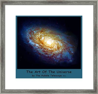 The Art Of The Universe 301 Framed Print by The Hubble Telescope