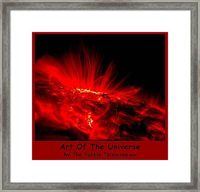 The Art Of The Universe 307 Framed Print by The Hubble Telescope