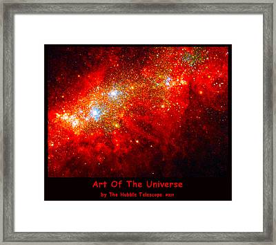 The Art Of The Universe 309 Framed Print by The Hubble Telescope