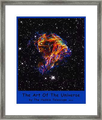 The Art Of The Universe 310 Framed Print by The Hubble Telescope