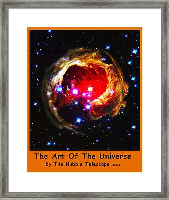 The Art Of The Universe 323 Framed Print by The Hubble Telescope