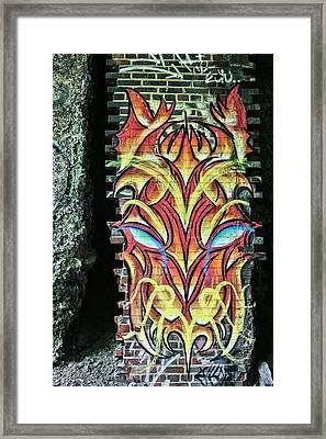 The Art Underground Framed Print