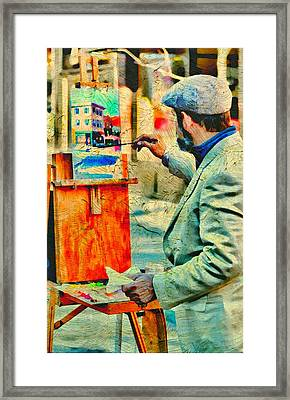 The Artist Framed Print by Diana Angstadt
