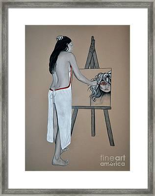 The Artist Framed Print by Joe Dragt