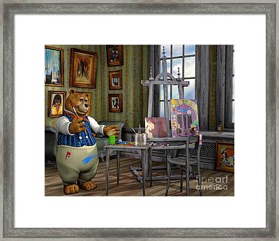 The Artist Framed Print