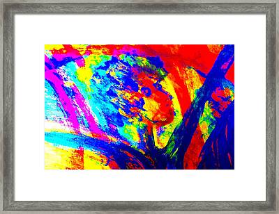 If The Artist Rules The World How Would It Be Would Ti Be Nice Or Would It Kill You   Framed Print