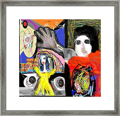 The Artist  Way  Framed Print