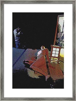 The Artistic Photographer Framed Print
