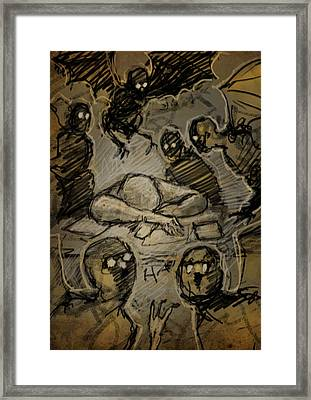 The Artist's Dream Framed Print