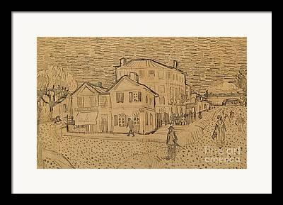 Vangogh Drawings Framed Prints