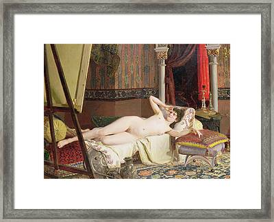 The Artists Model Framed Print