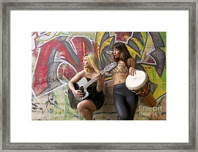 The Artists Framed Print by Sean Griffin