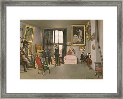 The Artist's Studio Framed Print