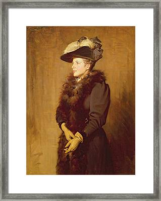 The Artists Wife, 1893 Framed Print