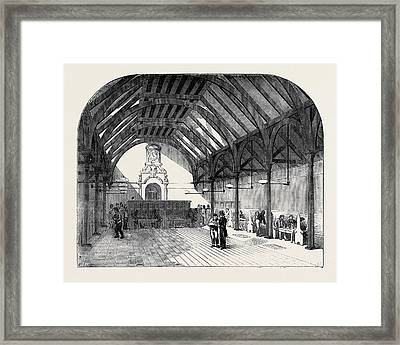 The Artizans Home, Spitalfields Framed Print by English School