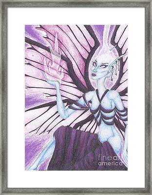 The Ascendant Framed Print by Coriander  Shea