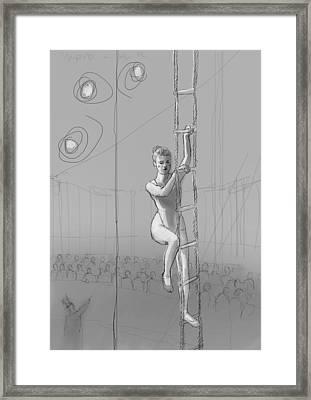 The Ascension Framed Print by H James Hoff