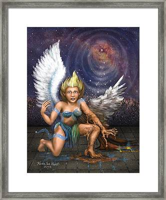 The Ascention Framed Print