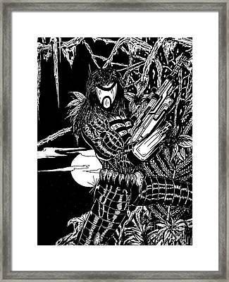 The Assassin Framed Print by Justin Moore