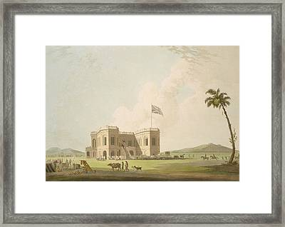 The Assembly Rooms On The Race Ground Framed Print