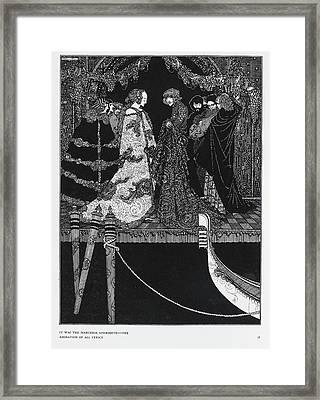 The Assignation Framed Print