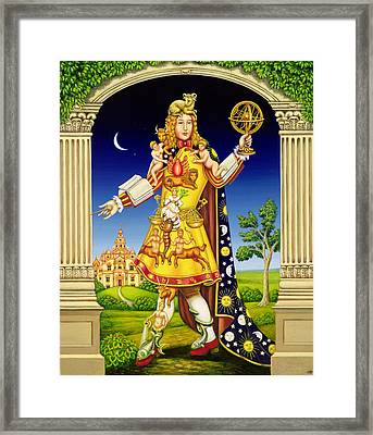 The Astrologers Garden Framed Print