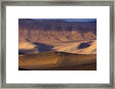 The Atacama Desert Framed Print