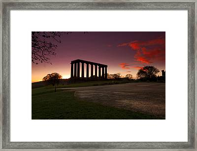 The Athens Of The North Framed Print