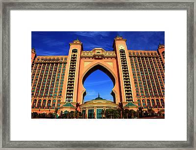 The Atlantis Framed Print by Farah Faizal