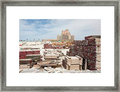 The Atlantis On The Palm Framed Print by Ashley Cooper