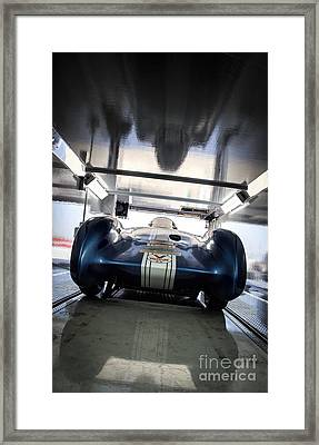 The Attempt- Mickey Thompson- Metal And Speed Framed Print by Holly Martin
