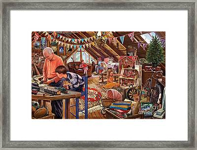 The Attic Framed Print by Steve Crisp