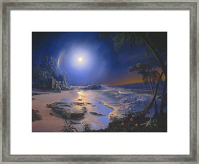 The Augmented Sea Framed Print by Loren Adams