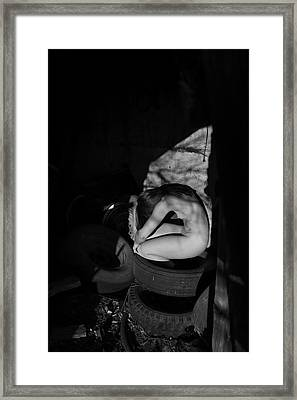 The Auspicious Squalor Of The Human Butterfly Framed Print