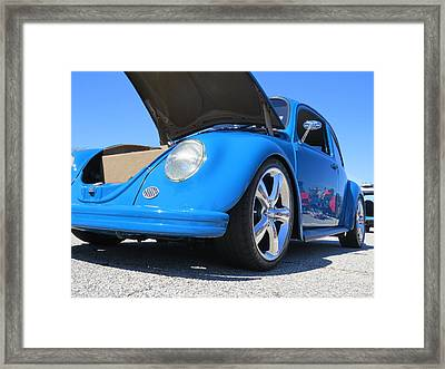 The Auto Icon Framed Print