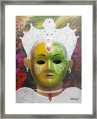 The Autumn Fairy Framed Print