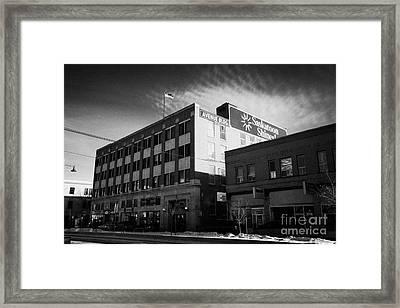 the avenue building originally macmillan department store Saskatoon Saskatchewan Canada Framed Print by Joe Fox