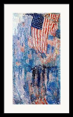 The Fourth Of July Framed Prints