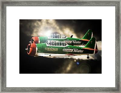 The Aviator Framed Print by Paul Job