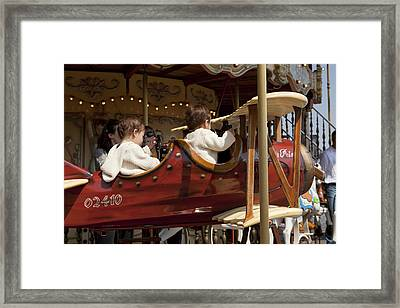 The Aviators Framed Print by Art Ferrier