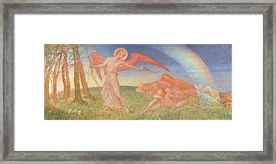 The Awakening Framed Print by Phoebe Anna Traquair