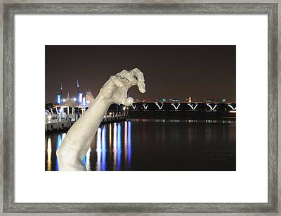 The Awakening Sculpture Framed Print