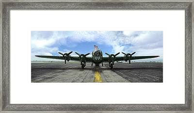 The B17 Flying Fortress Framed Print