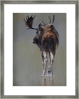 The Bachelor Framed Print by Mia DeLode