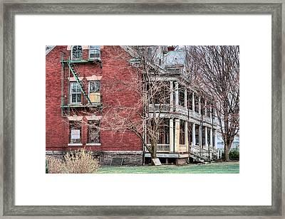 The Bachelor Officers Quarters  Framed Print