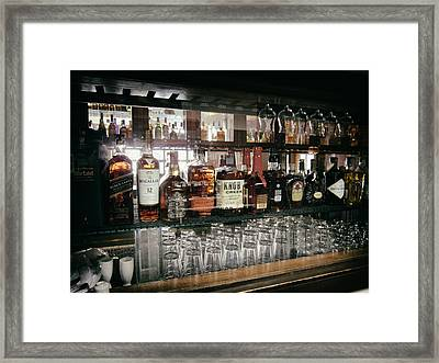 The Back Bar Framed Print by Daniel Hagerman